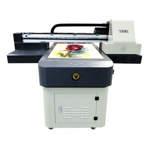 ขายร้อน a1 / a2 / a3 / a4 รูปแบบขนาดเล็กเครื่องพิมพ์ flatbed ดิจิตอลยูวี 6090