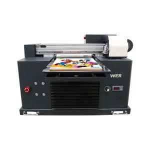 a2 a3 เครื่องพิมพ์อิงค์เจ็ทดิจิตอลขนาดใหญ่รูปแบบการพิมพ์ยูวี Flatbed