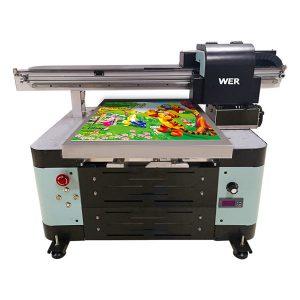 ราคาที่ดี a2 เครื่องพิมพ์ flatbed ขนาดเล็กยูวีที่มีหัวพิมพ์ epson