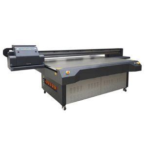 เครื่องพิมพ์อิงค์เจ็ท UV Flatbed WER-ET2513UV หัวพิมพ์ความเร็วสูง