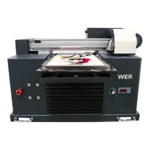 a4 dtg เครื่องพิมพ์ flatbed ผ้าฝ้ายเครื่องการพิมพ์เสื้อยืด