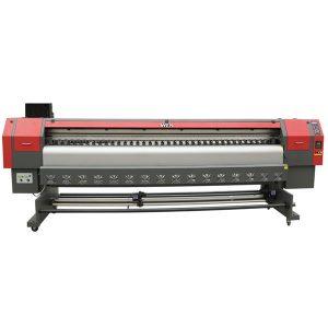 2019 ใหม่ประเภท dx5 eco ตัวทำละลายเครื่องพิมพ์แบนเนอร์ดิ้นไวนิลเครื่องการพิมพ์